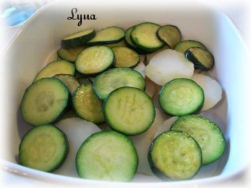 Pommes de terre et courgettes gratinés Zucchi10