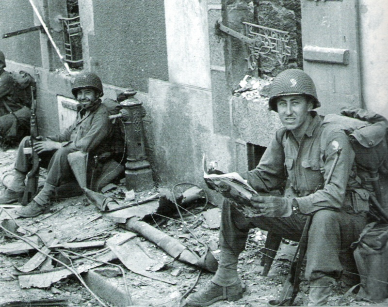 La 29th Infantry Division en images... Brest_10