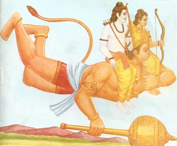 ramayana - THE RAMAYANA - Part 6 Scan0094