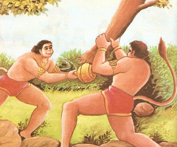 ramayana - THE RAMAYANA - Part 6 Scan0099
