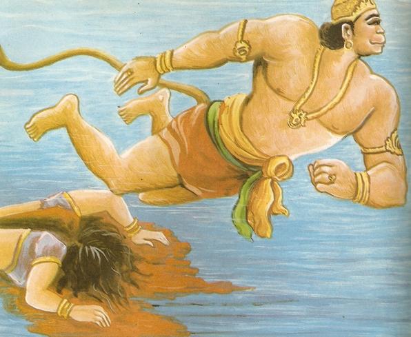 ramayana - THE RAMAYANA - Part 7 Scan0122