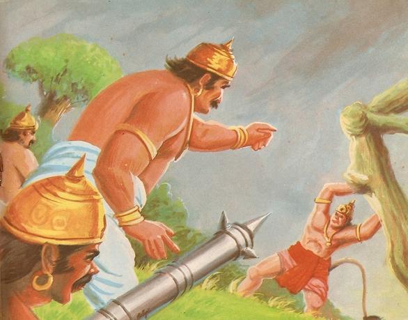 ramayana - THE RAMAYANA - Part 7 Scan0132