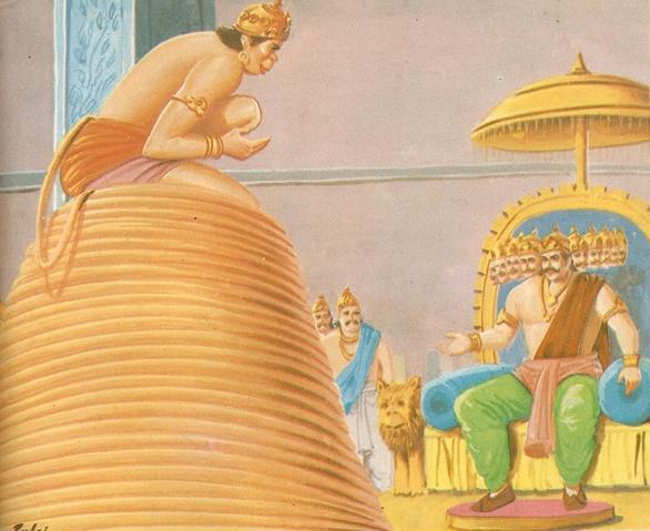 ramayana - THE RAMAYANA - Part 7 Scan0136