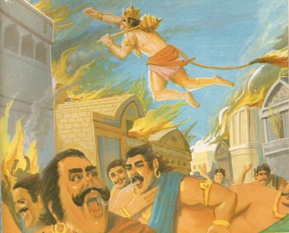 ramayana - THE RAMAYANA - Part 7 Scan0140