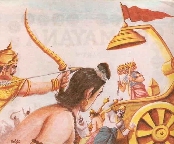 part - THE RAMAYANA - Part 9 Scan0172