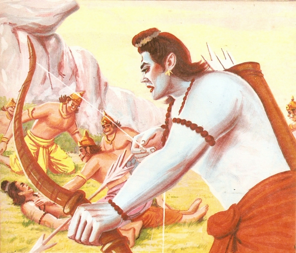 part - THE RAMAYANA - Part 9 Scan0175