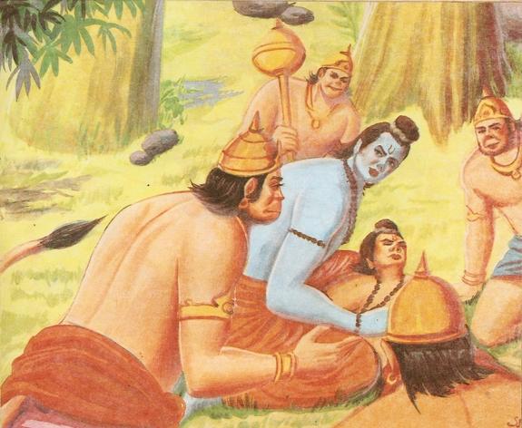 part - THE RAMAYANA - Part 9 Scan0177