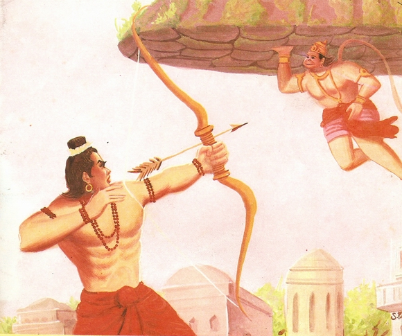 part - THE RAMAYANA - Part 9 Scan0179