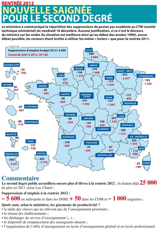 Budget 2012 : 5600 nouvelles suppressions de postes dans le 2nd degré Carte_10
