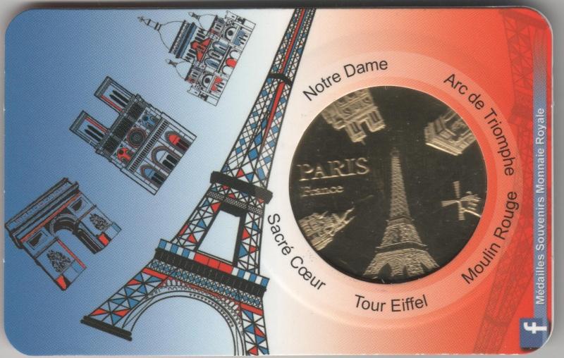 Carte-Médaille Paris (KNM) 001114