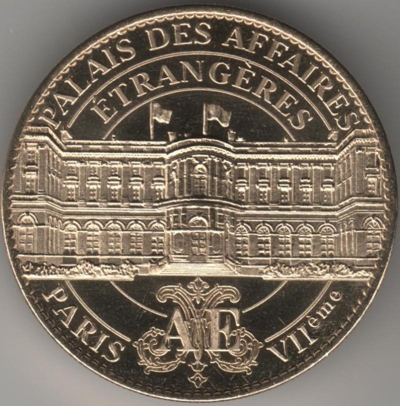 Arthus-Bertrand revers Trésors de France =  18 00132