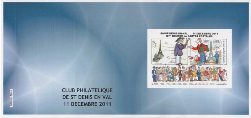 45 - Saint-Denis-en-Val - Club Philatélique   001_8042