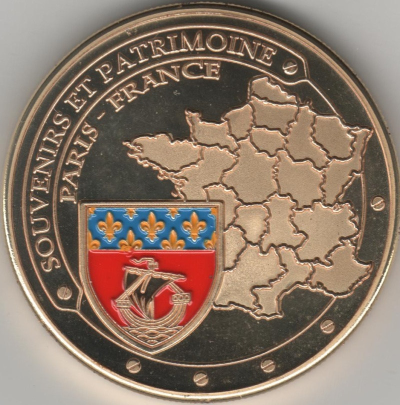 Souvenirs et Patrimoine 31mm  00215