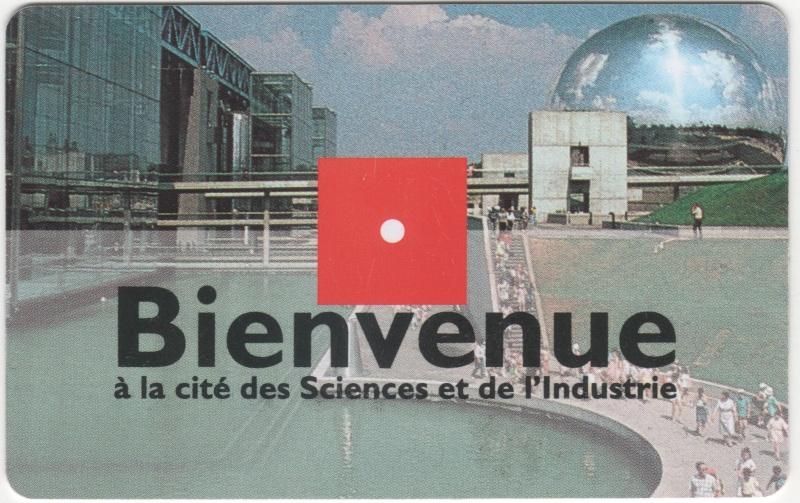 Passeport Cité des Sciences et de l'Industrie 00334