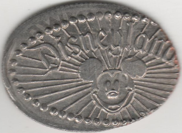 Elongated Coin US 00412