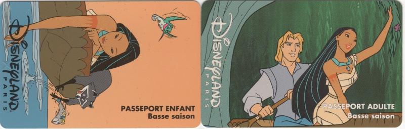 Passeport Disneyland Paris 00518
