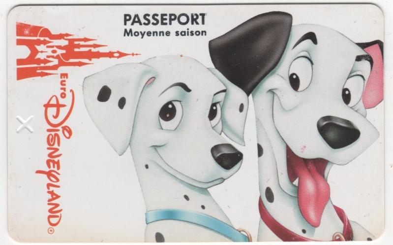 Passeport Disneyland Paris 00619