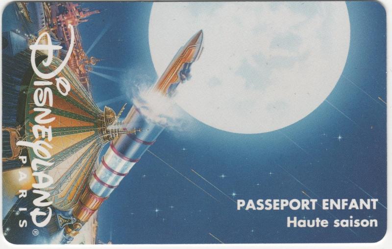 Passeport Disneyland Paris 00715