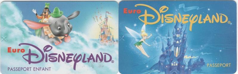 Passeport Disneyland Paris 01113
