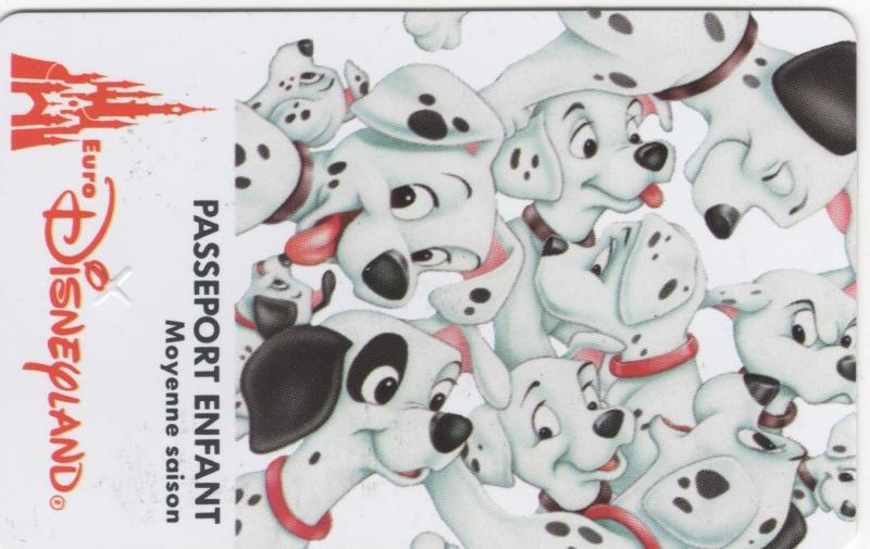 Passeport Disneyland Paris 01215