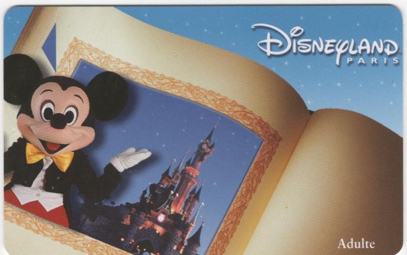 Passeport Disneyland Paris 01412