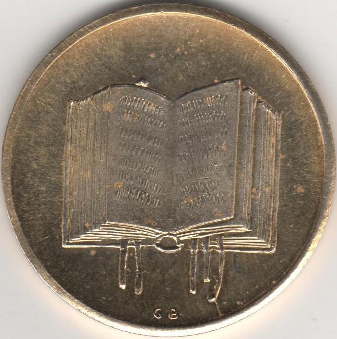 2 petites pièces dorées 28,5mm 01610