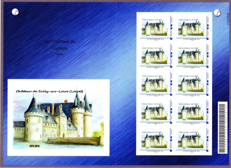 45 - Gien - Association Philatélique du Giennois  2012-012
