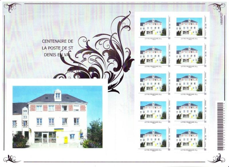 45 - Saint-Denis-en-Val - Club Philatélique   2012-021