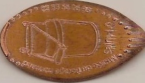 Elongated-Coin  5013