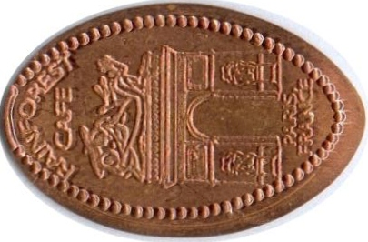 Elongated-Coin 7712