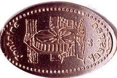 Elongated-Coin 8411