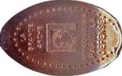 Elongated-Coin 9210