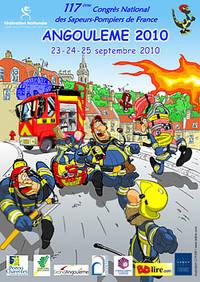 16 - Angoulème - Sapeurs Pompiers Congrès 2010 Affich12