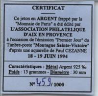 Aix-en-Provence (13100)  [Fouque] Ecu210