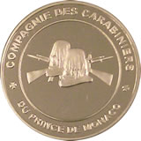 Principauté de Monaco  [UEAW / UEFD / UEMA] Medail12