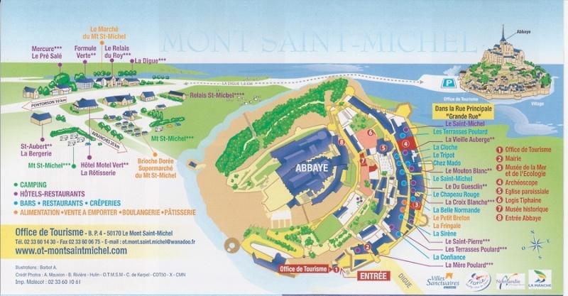 Mont Saint-Michel (50170)  [UEBF / Poulard UECD] Plan_f10
