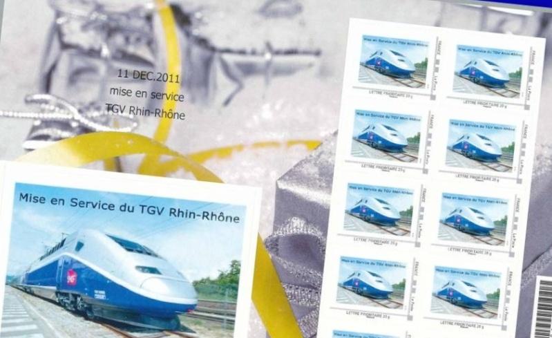 25 - Besançon - Société Philatélique   Tgv210
