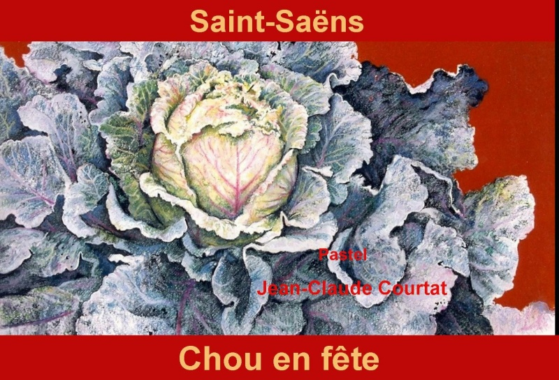 76 - Saint-Saëns - Le Chou  Timbr110