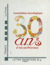 13 - Aix-en-Provence - Association Mycologique Timbre24