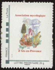 13 - Aix-en-Provence - Association Mycologique Timbre25