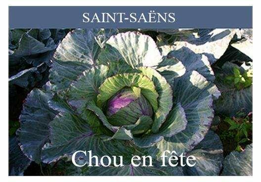 76 - Saint-Saëns - Le Chou  Timbre37