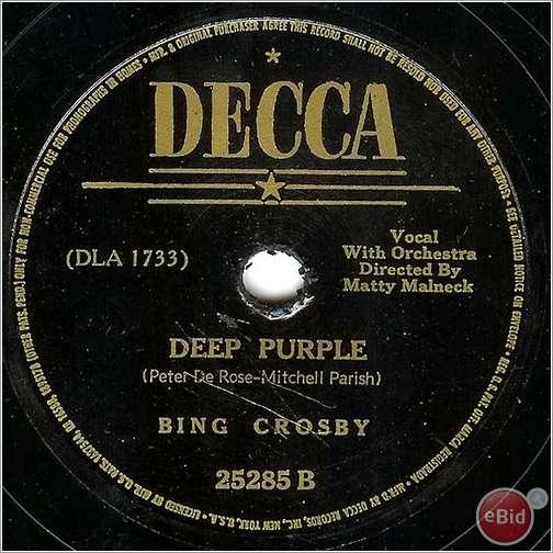 Deep Purple Mark 1 12377510