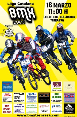 Lliga Catalana a Terrassa BMX Poster10