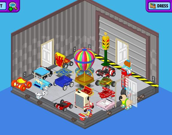 "Ally's WW Room-  ""The Garage"" Garage11"