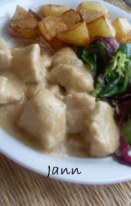 Cubinhos de frango com leite de coco Sdc13511