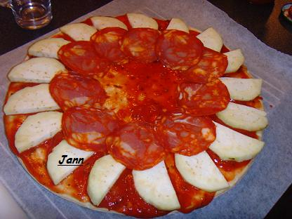 Pizza de beringela e chourição Snv32022