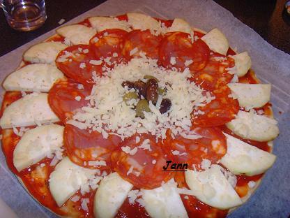 Pizza de beringela e chourição Snv32023