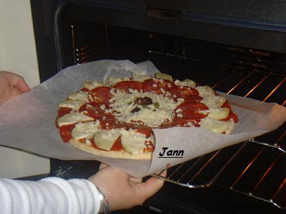 Pizza de beringela e chourição Snv32024
