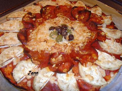 Pizza de beringela e chourição Snv32025