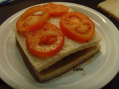 Sandes de hamburguer com bacon e queijo Snv32052